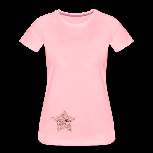 PAS Star braun - Frauen Premium T-Shirt