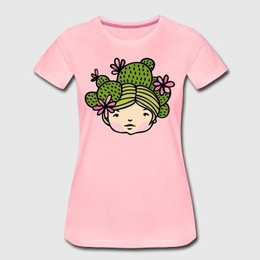 kaktukset - Naisten premium t-paita