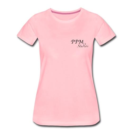 Ppm studios Negro - Camiseta premium mujer