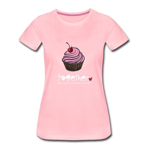 Together - Partnerlook Shirt 024 - Frauen Premium T-Shirt