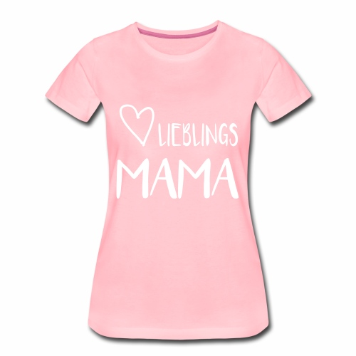 Lieblings MAMA - I heart Mama - Frauen Premium T-Shirt