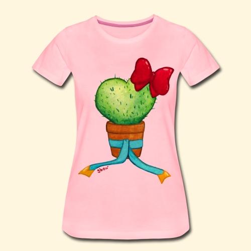 Cactus Coeur - T-shirt Premium Femme