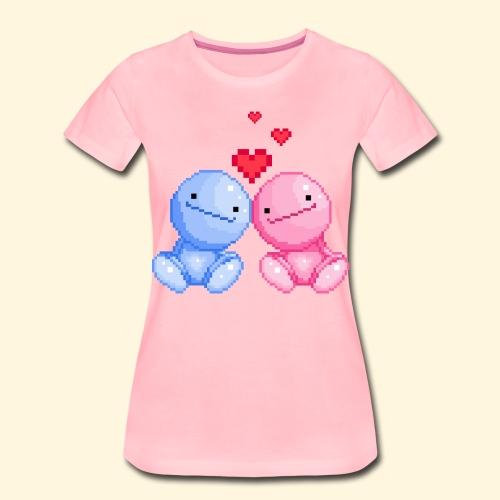 Nohohon amoureux de la Saint Valentin - T-shirt Premium Femme