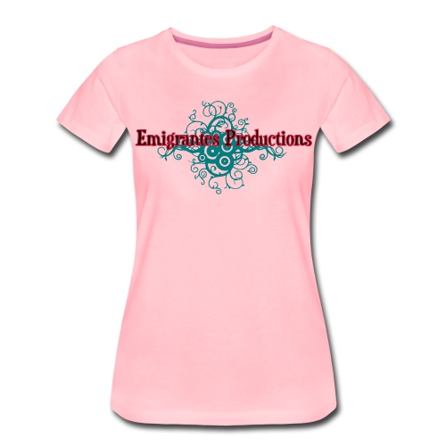 Emigrantes Productions logo SVG 3 couleurs - T-shirt Premium Femme