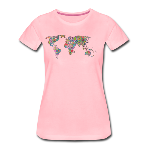 Hipsters' world - Women's Premium T-Shirt