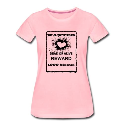 1000bisous - T-shirt Premium Femme