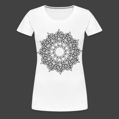 RF052 - BLACK - Women's Premium T-Shirt