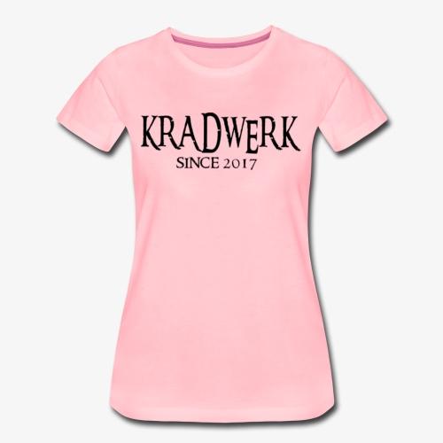 Schriftzug/ schwarz - Frauen Premium T-Shirt