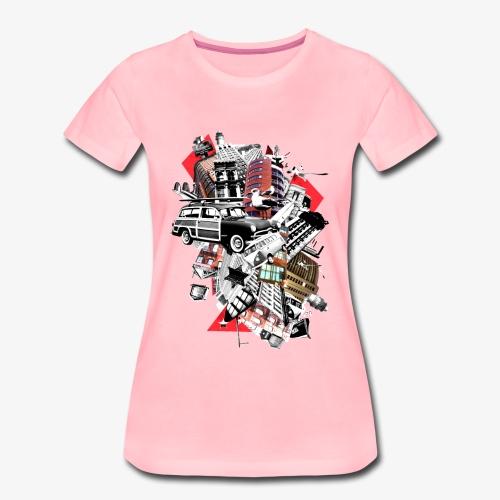 Pop Arts Ville - T-shirt Premium Femme