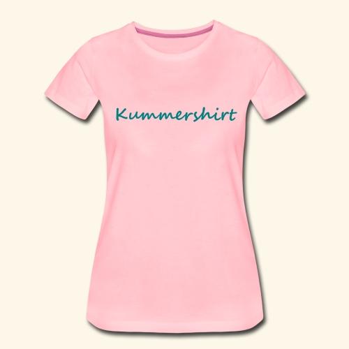 Kummershirt - ZWEETE4U - Frauen Premium T-Shirt