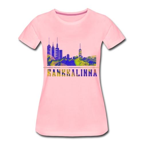rankkalinna moniväri - Naisten premium t-paita