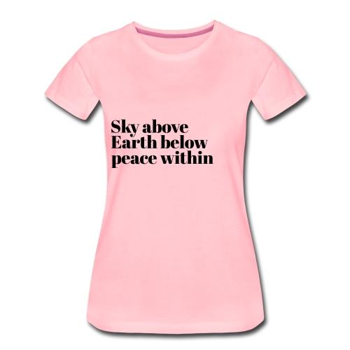 happy times - Vrouwen Premium T-shirt