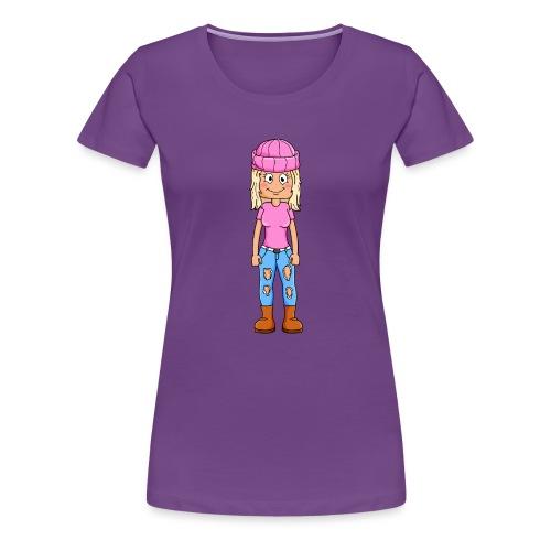 Yumi gaming tryck - Premium-T-shirt dam