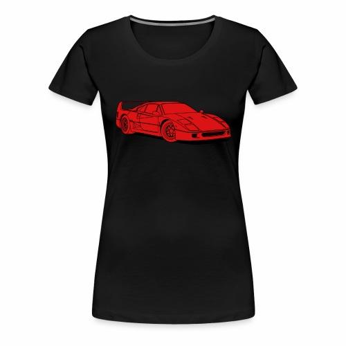 f40 red - Women's Premium T-Shirt