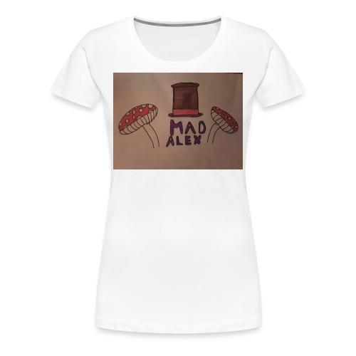 Mad Alex Logo - Women's Premium T-Shirt