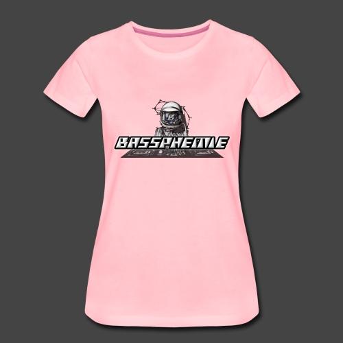 Bassphemie - Bassphemie Logo - Frauen Premium T-Shirt