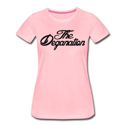 The Deganation - Premium T-skjorte for kvinner