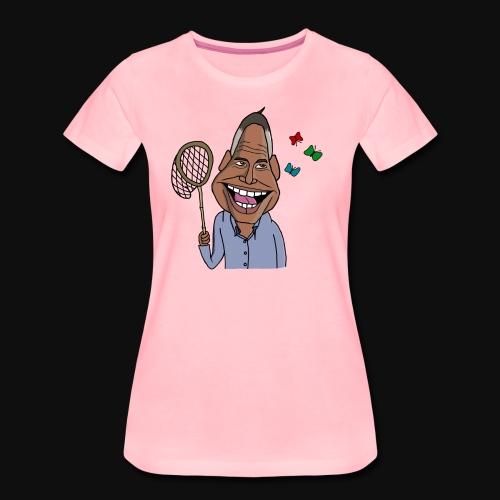 Fjärilar K - Premium-T-shirt dam
