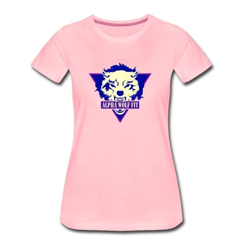Purple logo - Women's Premium T-Shirt