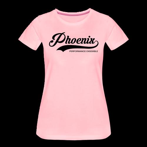 Phoenix Retro Black - Frauen Premium T-Shirt