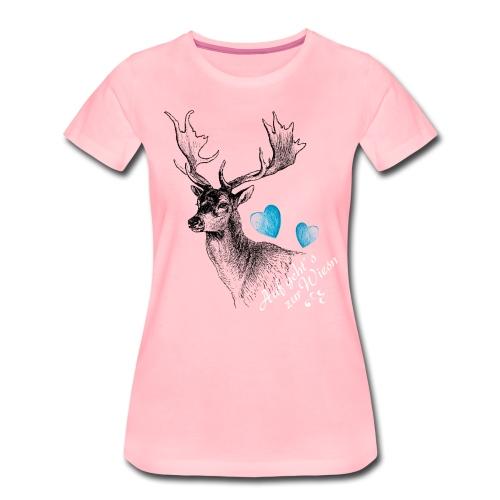 Auf geht´s zur Wiesn - Frauen Premium T-Shirt