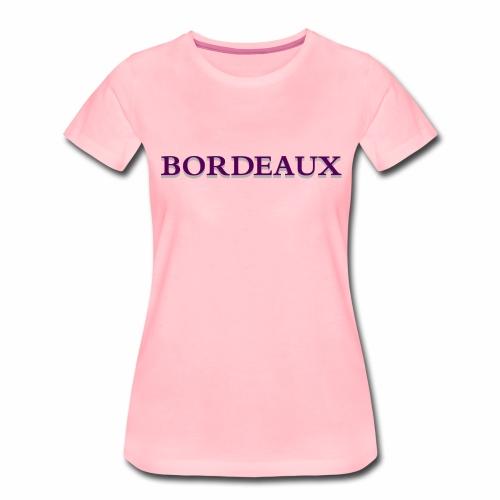 Bordeaux violet - Women's Premium T-Shirt