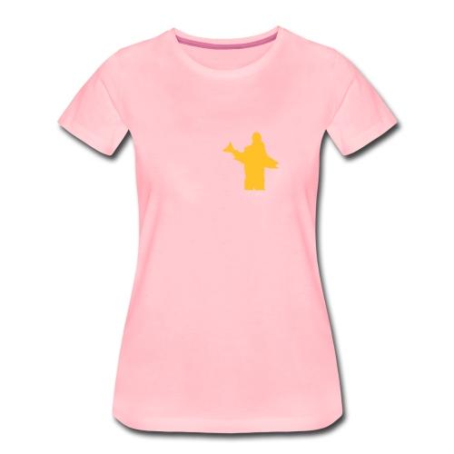 posering med laks - Premium T-skjorte for kvinner
