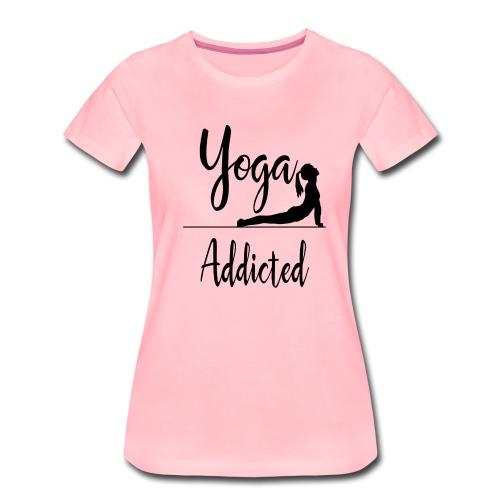 Yoga Addicted - Yoga Pose - Frauen Premium T-Shirt