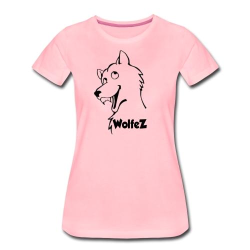 WolfeZ Klær - Premium T-skjorte for kvinner