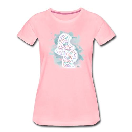 Silhouette Richtig Schwanger - Frauen Premium T-Shirt