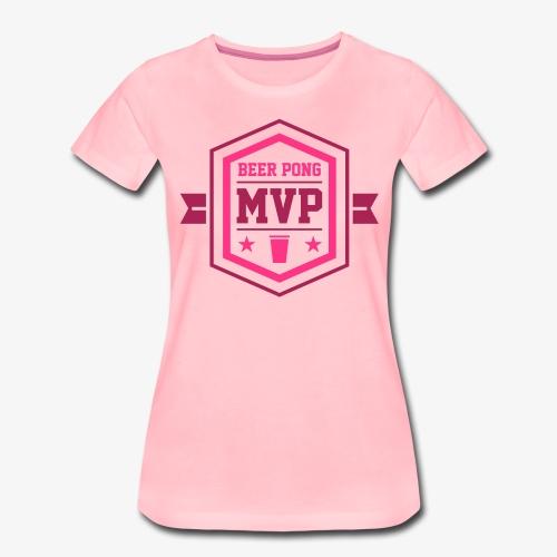 Beer Pong MVP II - Frauen Premium T-Shirt
