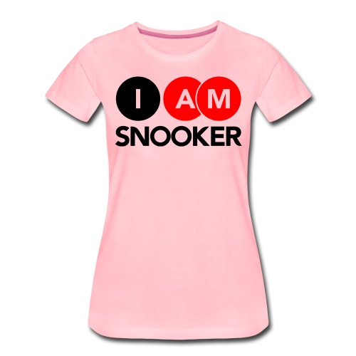 I AM SNOOKER - Women's Premium T-Shirt