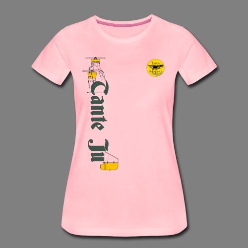 TDH19-PROFIL-JU52 GRIS FONCE - T-shirt Premium Femme