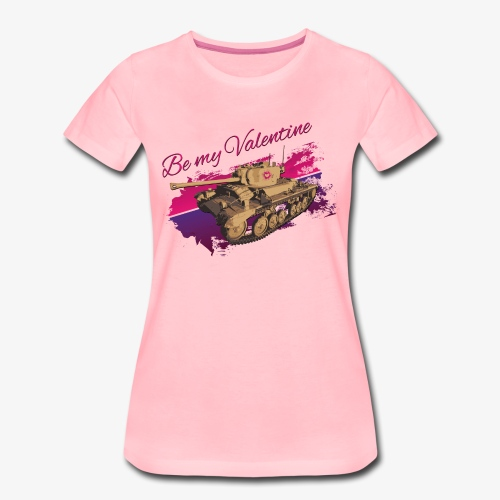 Be my Valentine Tank - Frauen Premium T-Shirt