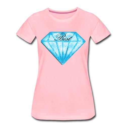 Best diamont - Camiseta premium mujer