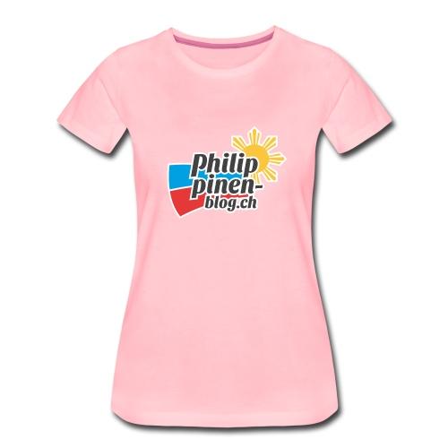 Das original Philippinen-Blog Logo - Frauen Premium T-Shirt