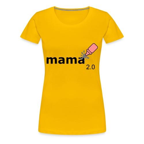 Mama_2-0 - Frauen Premium T-Shirt