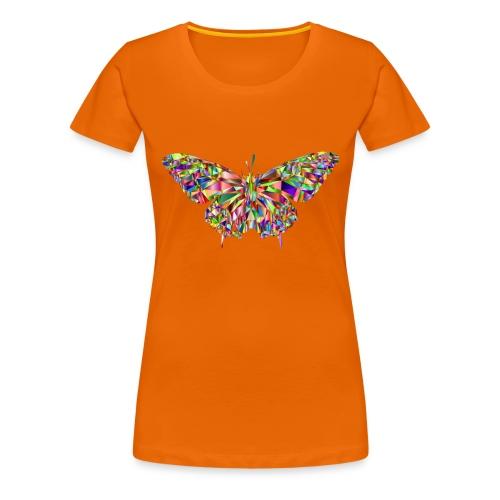 Geflogener Schmetterling - Frauen Premium T-Shirt