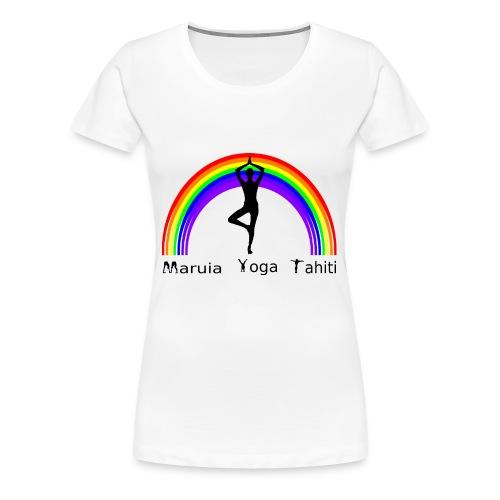 Logo de Maruia Yoga Tahiti - T-shirt Premium Femme