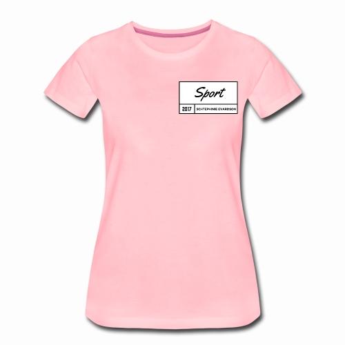 Schtephinie Evardson Sporting Wear - Women's Premium T-Shirt