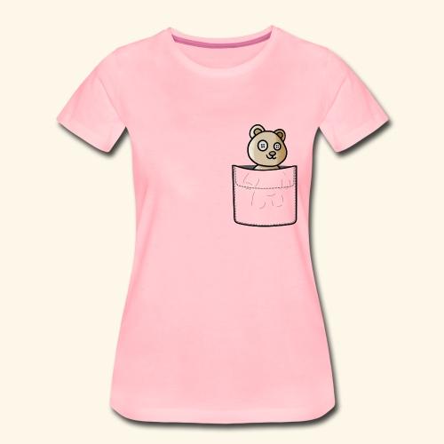 Bärli In The Pocket - Frauen Premium T-Shirt