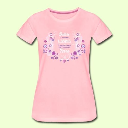 disegno linea Anima - Maglietta Premium da donna