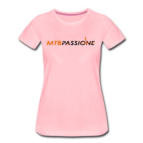 Logo Grafico MTB Passione - Maglietta Premium da donna