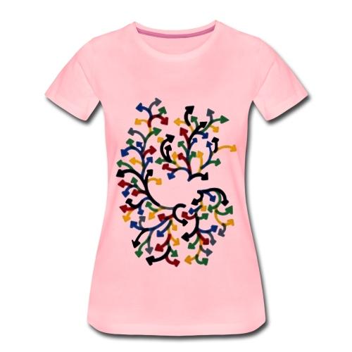 Pfeilchenstrauss - Frauen Premium T-Shirt