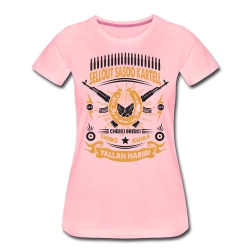 Sasoo Kartell 2 - Frauen Premium T-Shirt