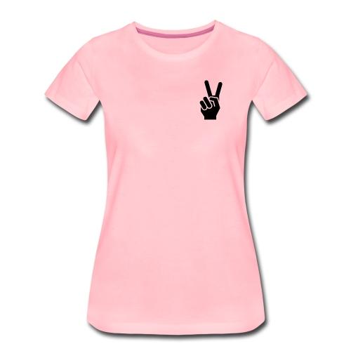 Peace,Frieden - Frauen Premium T-Shirt