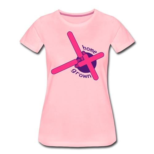 homegrown - Frauen Premium T-Shirt