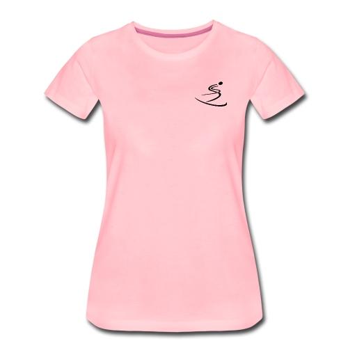 Skier - Women's Premium T-Shirt