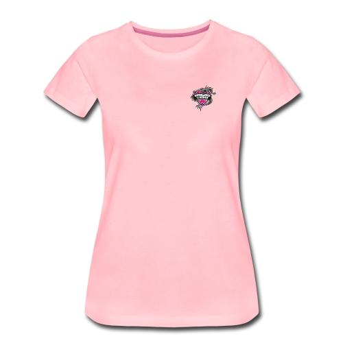 logo popscene dnd ss2 - Frauen Premium T-Shirt