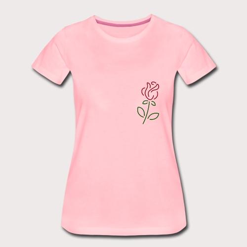 Rose Art - Frauen Premium T-Shirt